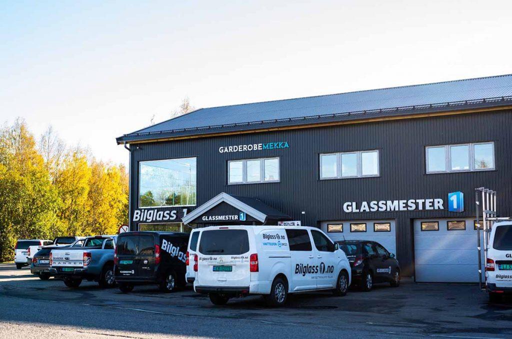 Glasssmester1 Lørenskog sin fasade