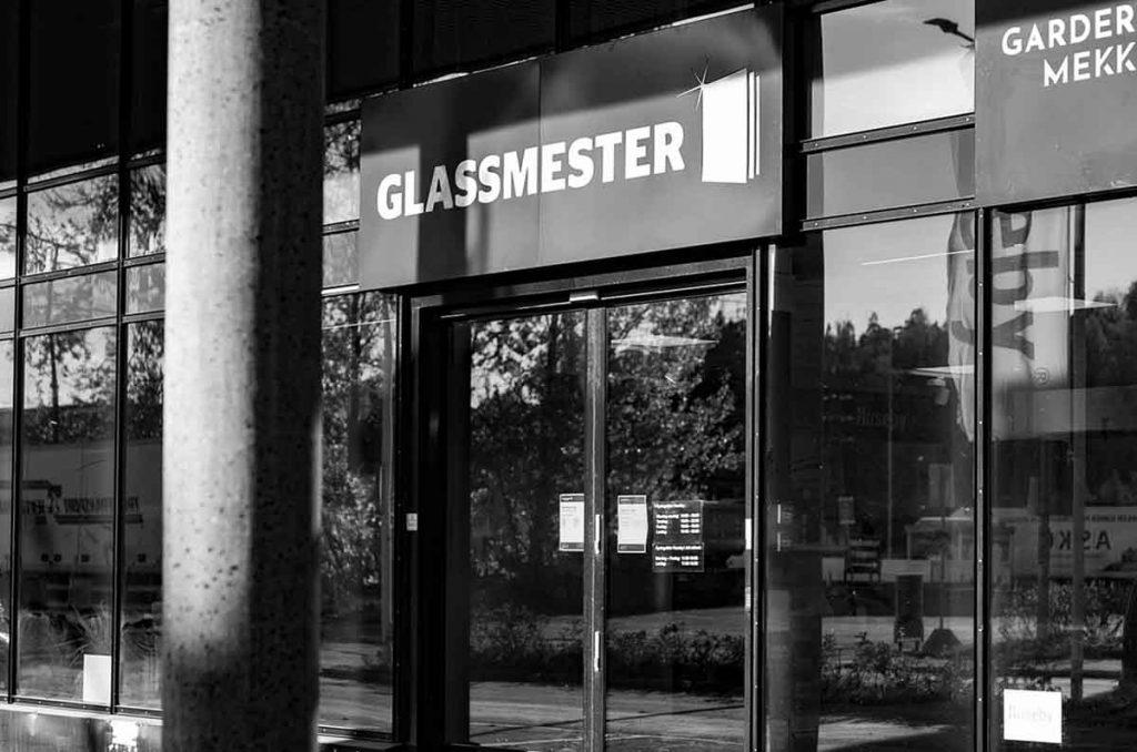 Fasaden og inngangspartiet til Glassmester1 Oslo