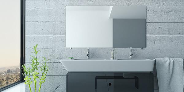 Speil til bad på egne mål