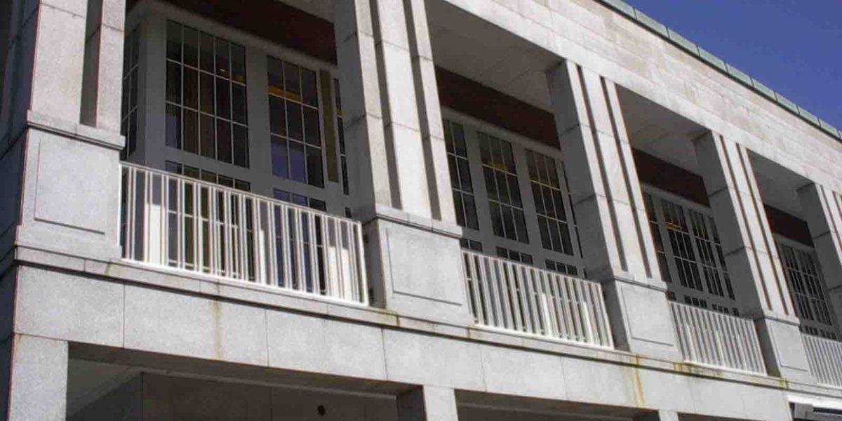 Store vinduer med sprosser