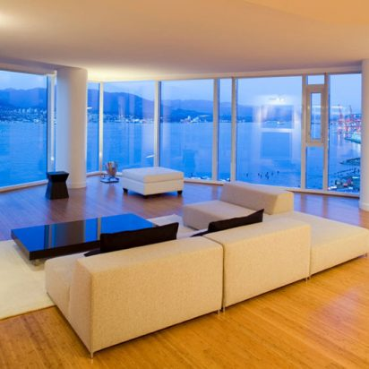 Store vinduer og fasader energispareglass
