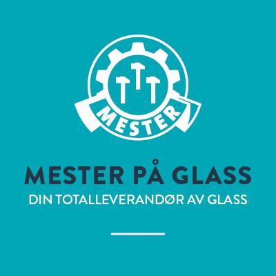 Glassmester1 har fagbrev i glassfaget og er mester på glass