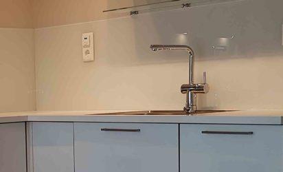 Hvitt kjøkkenglass (1)