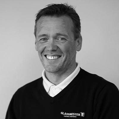 Jim Haugen er Driftssjef, med ansvar for salg til proff-kunder for Glassmester1 i Bærum og Asker