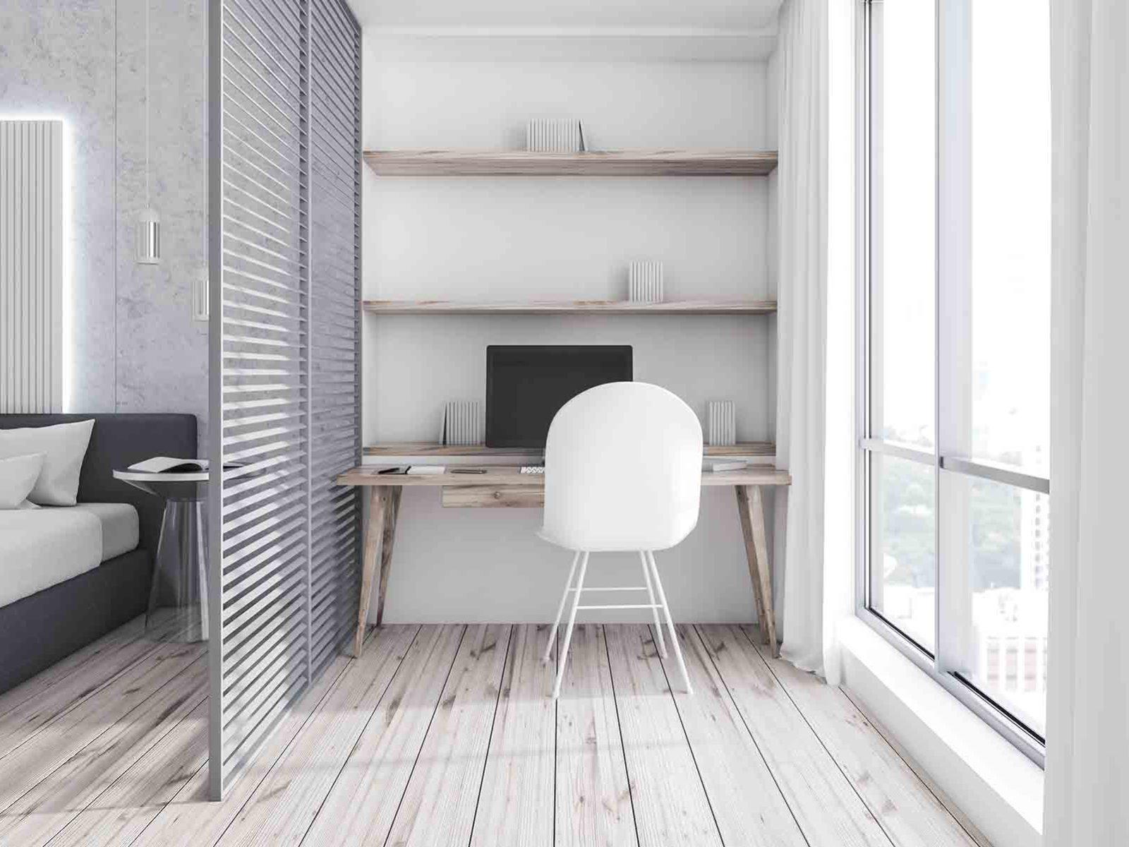 Moderne hjem har rom inndelt i soner