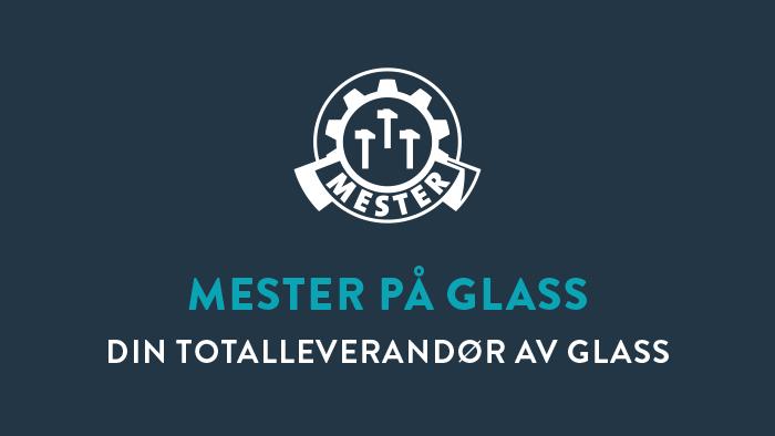 Glassmester1 er godkjent Mesterbedrift og kan derfor benytte mestermerket