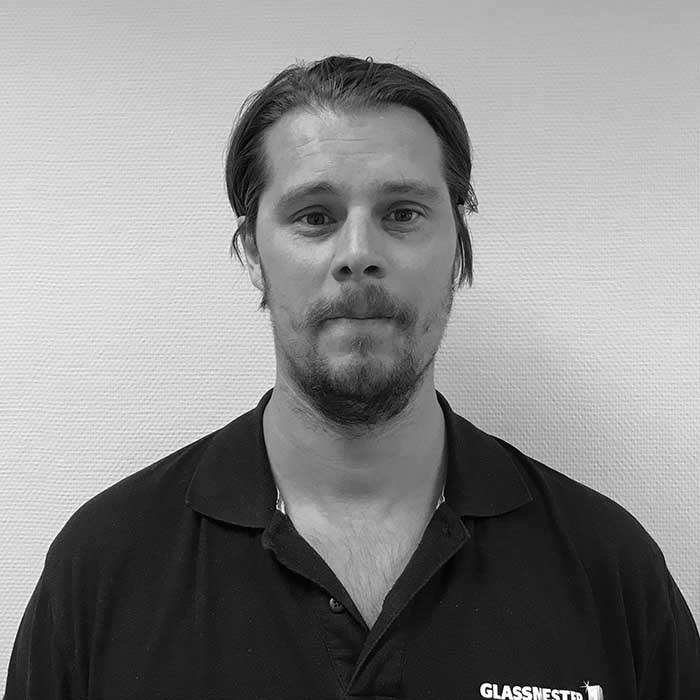 Jesper Jønsson er Montasjeleder for Glassmester1