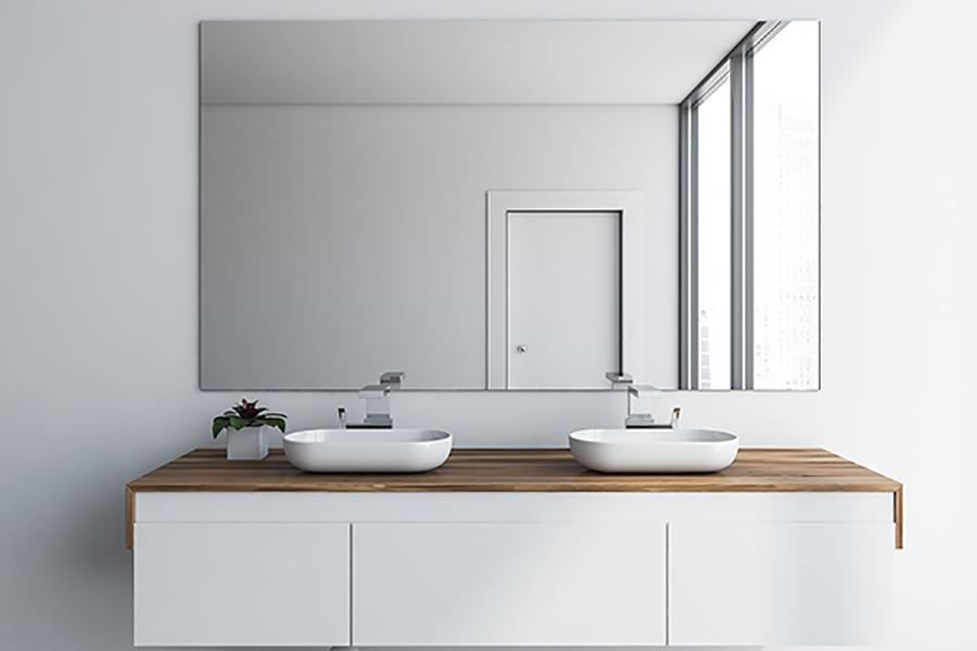 stort speil til bad